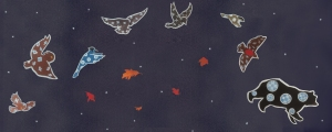 A Mi'kmaq story about the Big Dipper (and its trailing stars) and the coming of fall